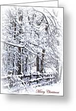 Snow-img-2174-merry Christmas Greeting Card