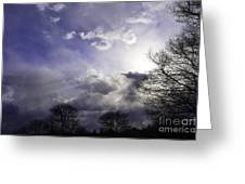 Snow Is In The Air Greeting Card