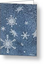 Snow Jewels Greeting Card