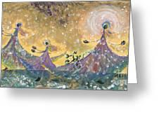 Snow Joy Greeting Card