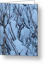 Snow Load Greeting Card