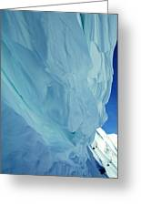 Snow Naturel Formation Kappl  Austria Greeting Card