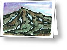 Snow Patches Greeting Card