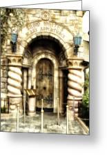 Snow Whites Scary Adventures Fantasyland Disneyland Greeting Card