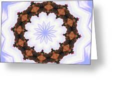 Snow Wreath Greeting Card