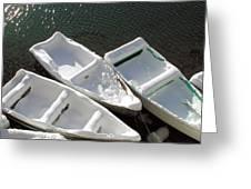 Snowboats Greeting Card