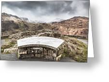 Snowdonia Viewpoint 2 Greeting Card