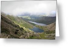Snowdonia Wales Greeting Card