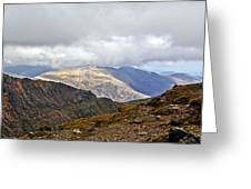 Snowdonian Splendor Greeting Card