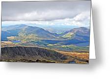 Snowdonian Thunderstorm Greeting Card