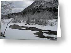 Snowed Under Valley Greeting Card