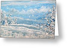 Snowfall Greeting Card