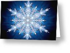 Snowflake - 2013 - A Greeting Card by Richard Barnes
