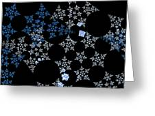 Snowflakes By Jammer Greeting Card