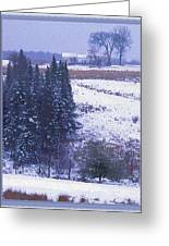 Snow's Arrival Greeting Card by Joy Nichols