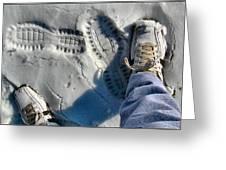 Snowshoecomp 2009 Greeting Card