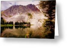 Snowy Mountains Loop 2 Greeting Card