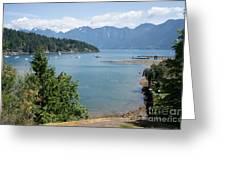 Snug Cove  Greeting Card