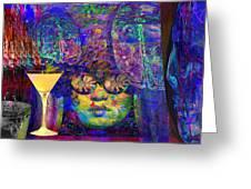 Studio 54 Tribute New York Greeting Card