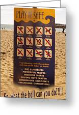 So What The Hell Can You Do? Greeting Card