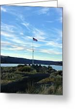 Soap Lake Washington Greeting Card