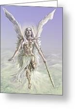 Soaring Angel Greeting Card