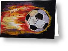 Soccer Greeting Card