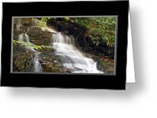Soco Falls Small Cascade North Carolina Greeting Card