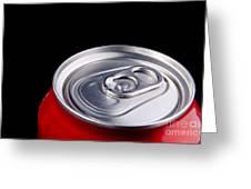 Soda Can Greeting Card