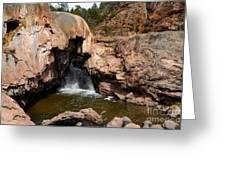 Soda Dam In New Mexico Greeting Card