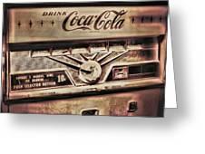 Soda Greeting Card
