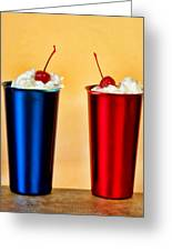 Soda Fountain Joy Greeting Card