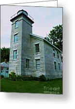 Sodus Point Lighthouse Greeting Card