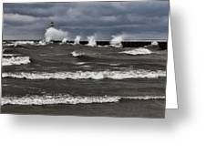 Sodus Waves Greeting Card