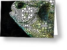 Sofishticated - Fish Art By Sharon Cummings Greeting Card