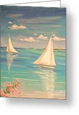Soft Breeze Greeting Card by The Beach  Dreamer