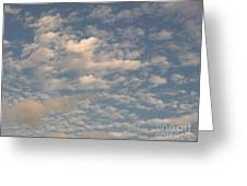 Soft Clouds Greeting Card