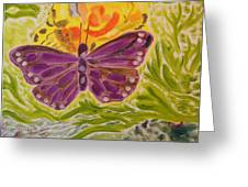 Soft Flutters Greeting Card