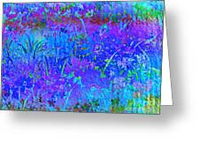 Soft Pastel Floral Abstract Greeting Card