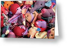 Soft Toys 02 Greeting Card