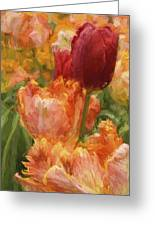 Soft Tulips Greeting Card