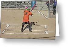 Softball Star Greeting Card