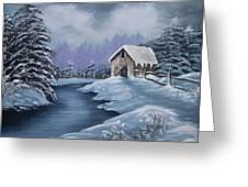 Softest Snow Greeting Card