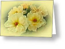 Softly And Sweetly Greeting Card