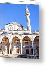 sokullu pasa camii Mosque 03 Greeting Card