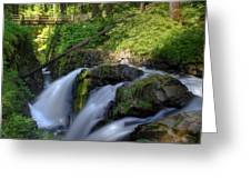 Sol Duc Falls Greeting Card