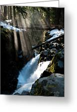 Sol Duc Falls, Olympic National Park Greeting Card