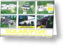 Solar Five Greeting Card