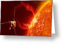 Solar Orbiter Greeting Card
