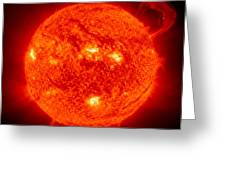 Solar Prominence Greeting Card